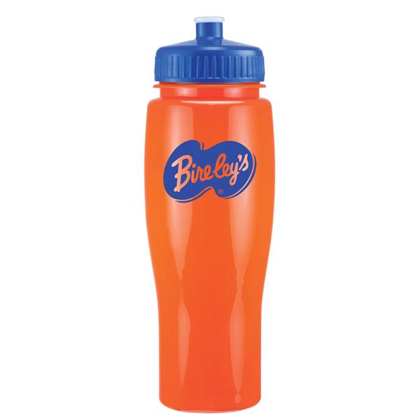 Contour Bottle - Solid/Push Pull Lid