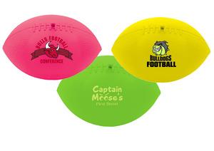 "7"" Mini Soft Vinyl Footballs"