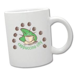White Ceramic - 11 oz. Mug