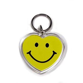 Acrylic Keytag - Heart