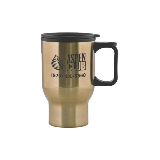 Aspen 15 oz Stainless Travel Mug