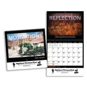Motivations Wall Calendar - Spiral