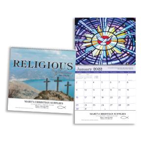 Religious Reflections Wall Calendar - Spiral