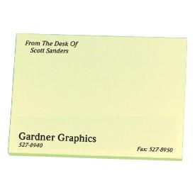 3M Post-it Note Pad 3x4 25 sheets 1-color color match