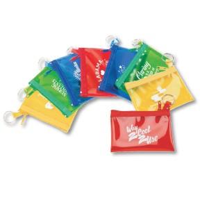 Rainbow Color Zip Purse