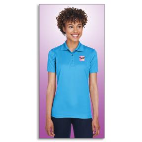UltraClub Ladies' Cool & Dry Mesh Piqué Polo