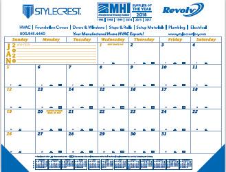 Desk Calendar Pads