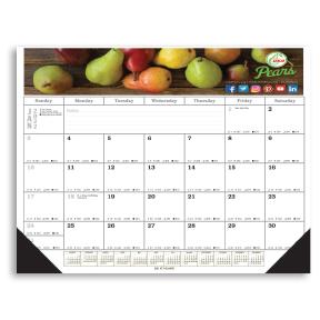 Full Color Desk Pad Calendar
