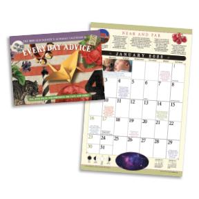The Old Farmer's Almanac Everyday Advice Wall Calendar