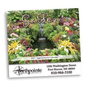Gardens Wall Calendars - Stapled