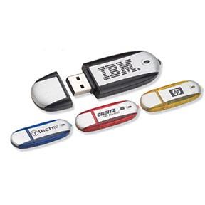 Oval Flash Drive - 4 GB