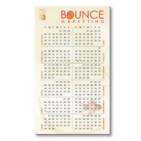 BIC Flexible Calendar Magnets - 20 mil