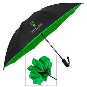 PRODUCTION CURRENTLY SUSPENDED.... Color Flip Reverse Auto Open/Close Umbrella