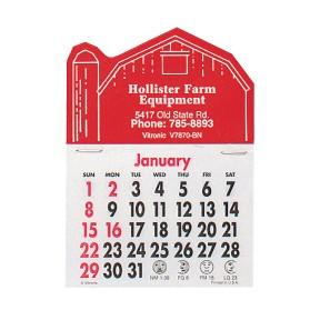 Press-N-Stick Calendars - Barn