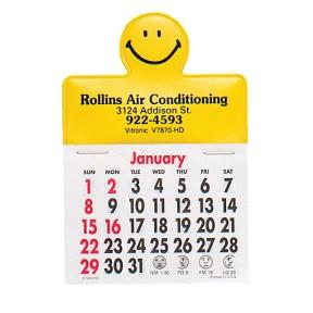 Press-N-Stick Calendars - Happy Face