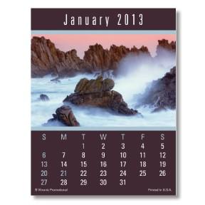 Press-N-Stick Calendar - Scenic