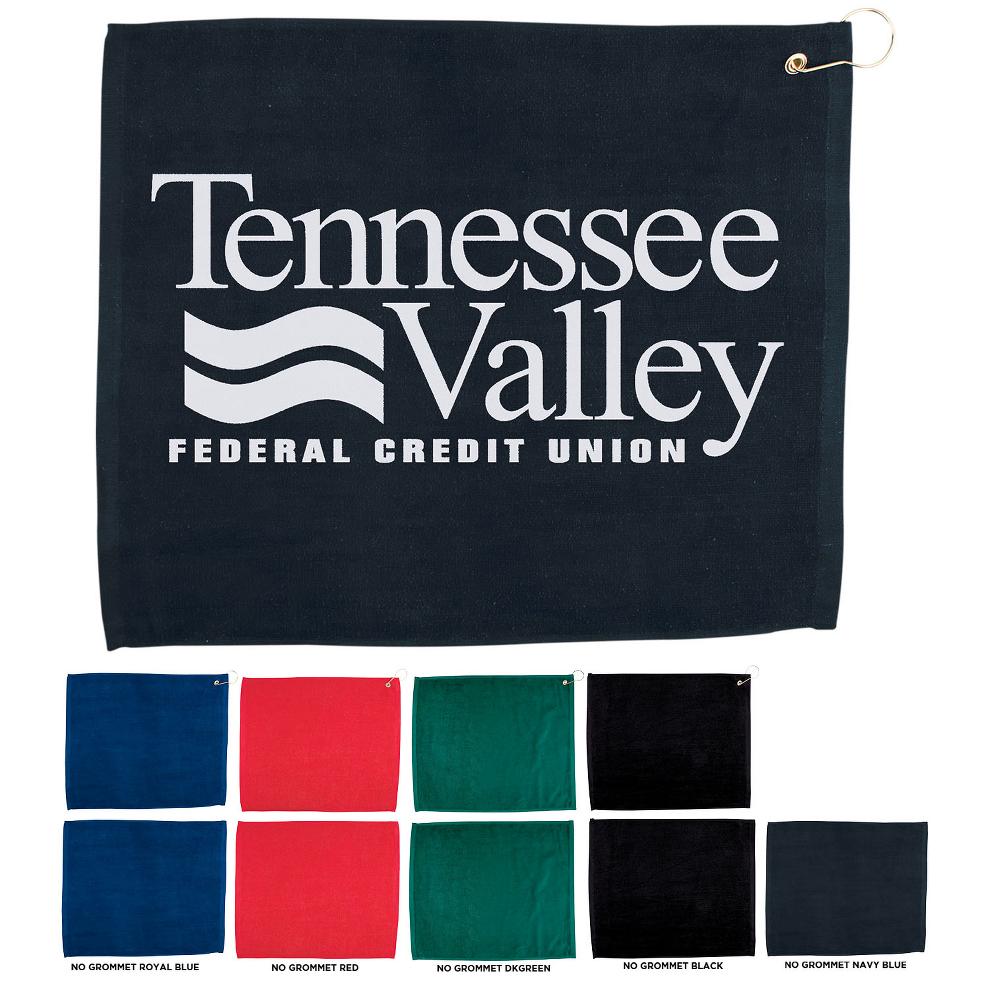 Hemmed Color Sport Towel